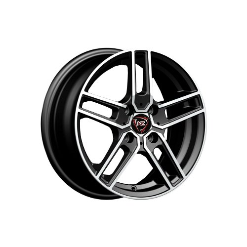 Фото - Колесный диск NZ Wheels F-12 7x17/5x108 D63.3 ET55 BKF колесный диск nz wheels sh662 7x17 5x108 d63 3 et55 sf