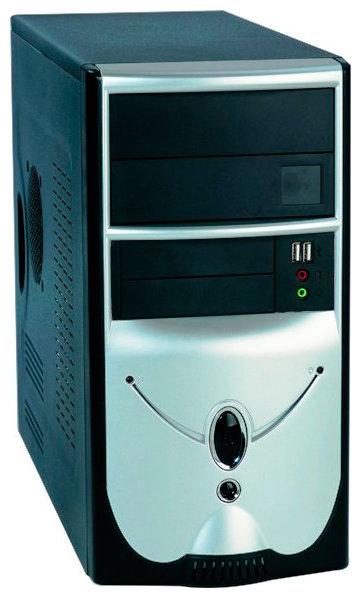 Компьютерный корпус Foxconn TLM-436 350W Black/silver