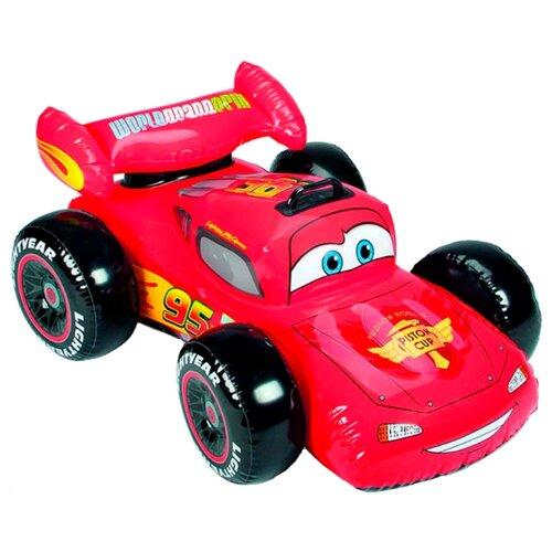 Купить Надувная игрушка-наездник Intex Тачки Disney-Pixar 58576 красный, Надувные игрушки