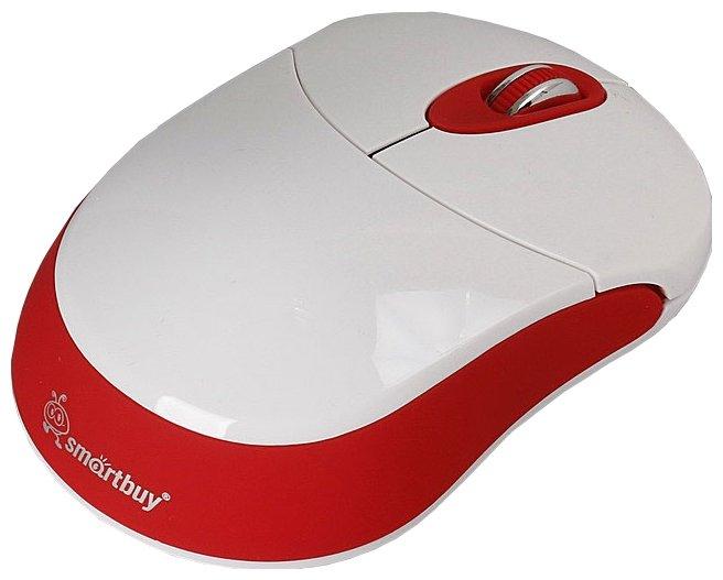 Мышь SmartBuy SBM-337AG-WR White-Red USB
