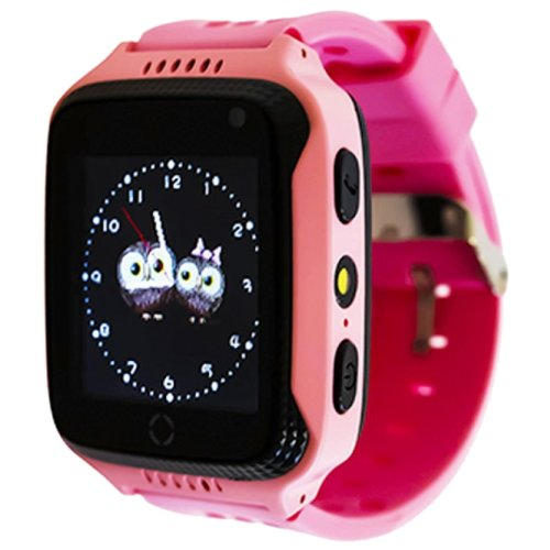 Детские умные часы Smart Baby Watch G100, розовый