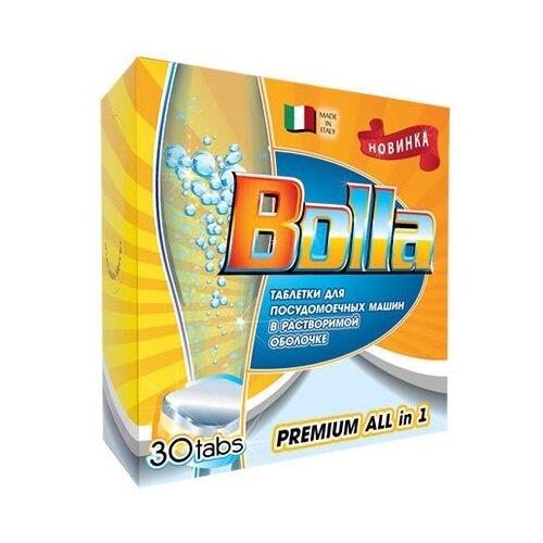 BOLLA Premium All in one таблетки в растворимой оболочке для посудомоечной машины 30 шт.