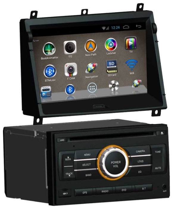 SIDGE Nissan X-Trail Android 4.0