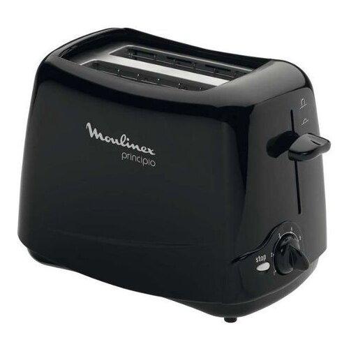 Тостер Moulinex TT 1102, черный тостер moulinex tt110232