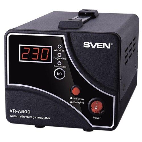 Стабилизатор напряжения SVEN VR-A500Стабилизаторы напряжения<br>