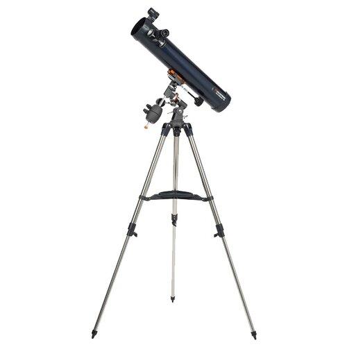 Фото - Телескоп Celestron AstroMaster 76 EQ синий/серебристый телескоп celestron firstscope 76 салфетки из микрофибры в подарок
