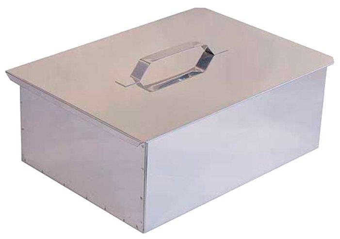 Коптильня Технолит двухъярусная с поддоном для сбора жира 480х280х170 (нерж. ст. 0,8 мм)