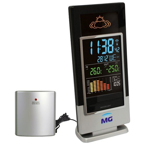 Метеостанция Meteo guide MG 01307 черный / серебристый