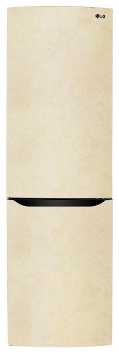 Холодильник LG GA-B409SECL бежевый
