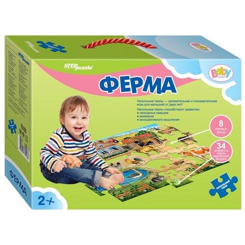 Пазл Step puzzle Baby Step Ферма (70103), 42 дет. пазл step puzzle park