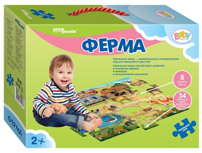 Пазл Step puzzle Baby Step Ферма (70103), 42 дет.