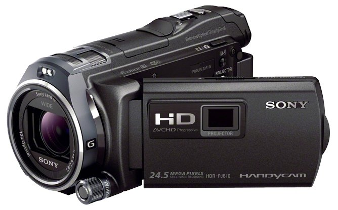 Сравнение с Sony HDR-PJ810E