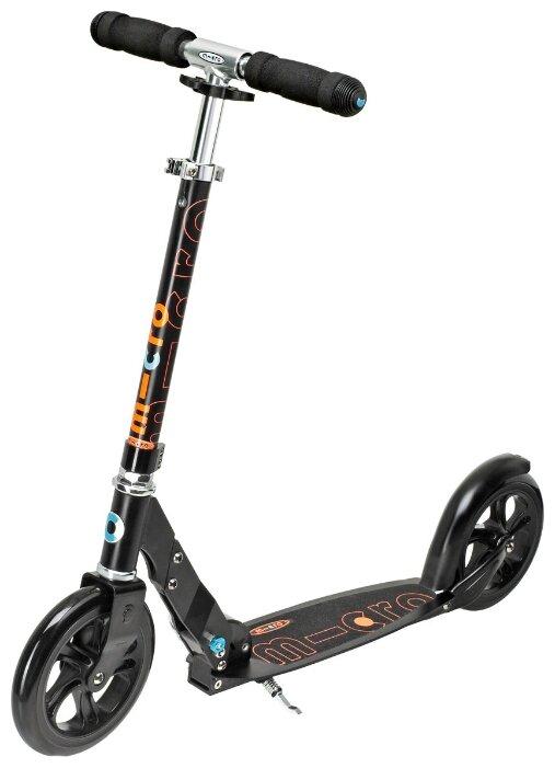 Городской самокат Micro Scooter Black (SA0034)