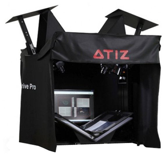 ATIZ BookDrive PRO с Canon EOS 650D kit 18-55