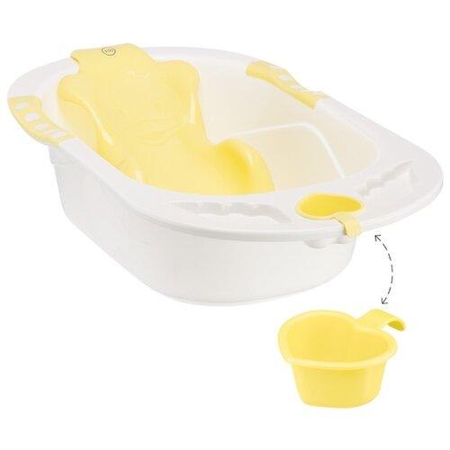 Анатомическая ванночка Happy Baby Bath comfort yellowВанночки<br>