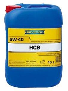Моторное масло Ravenol HCS SAE 5W-40 10 л