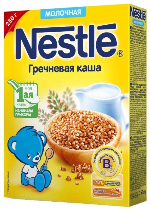 Каша Nestle молочная гречневая (с 4 месяцев) 250 г