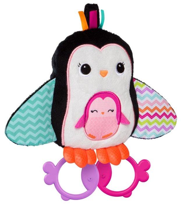 Прорезыватель-погремушка Bright Starts Пингвинчик