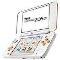 Игровая приставка Nintendo New 2DS XL белый/оранжевый