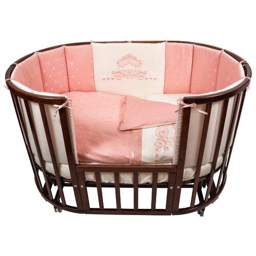 Купить Nuovita комплект Prestigio Atlante (6 предметов) 125х75 см розовый, Постельное белье и комплекты
