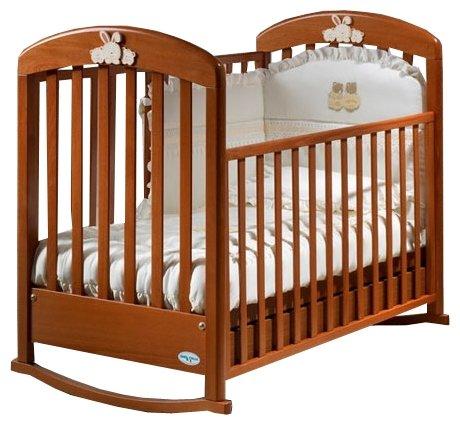 Кроватка Baby Italia Cinzia (качалка), на полозьях