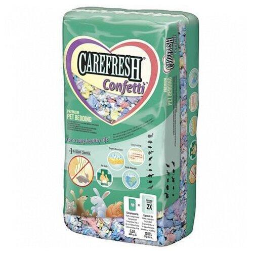 Наполнитель целлюлозный Carefresh Colors Confetti 10 л