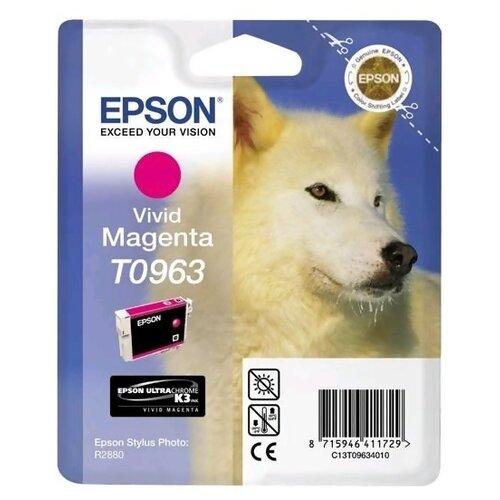 Фото - Картридж Epson C13T09634010 картридж epson t0963 c13t09634010 для epson st ph r2880 пурпурный
