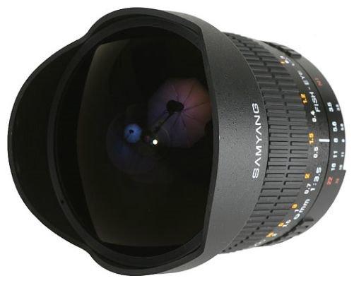 Samyang 8mm f/3.5 AS IF MC Fish-eye CS Canon EF-S