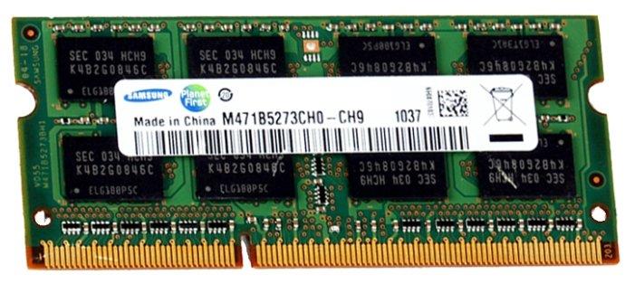 Samsung Оперативная память Samsung DDR3 1333 SO-DIMM 4Gb