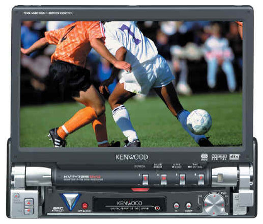 Автомагнитола KENWOOD KVT-725DVD