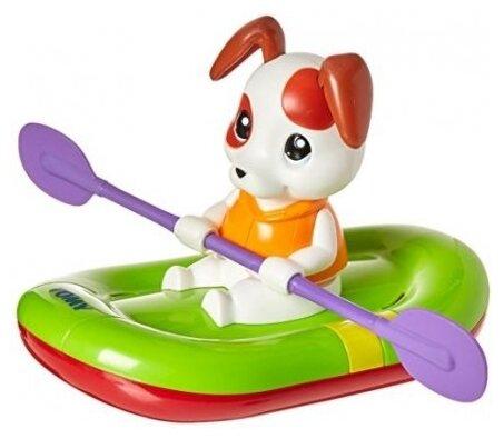 Игрушка для ванной Tomy Щенок на лодке (E72424)