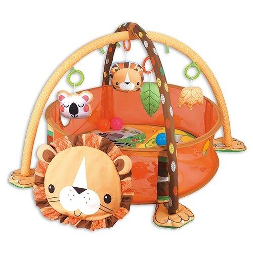 Купить Развивающий коврик Funkids Lion Gym (CC9611), Развивающие коврики