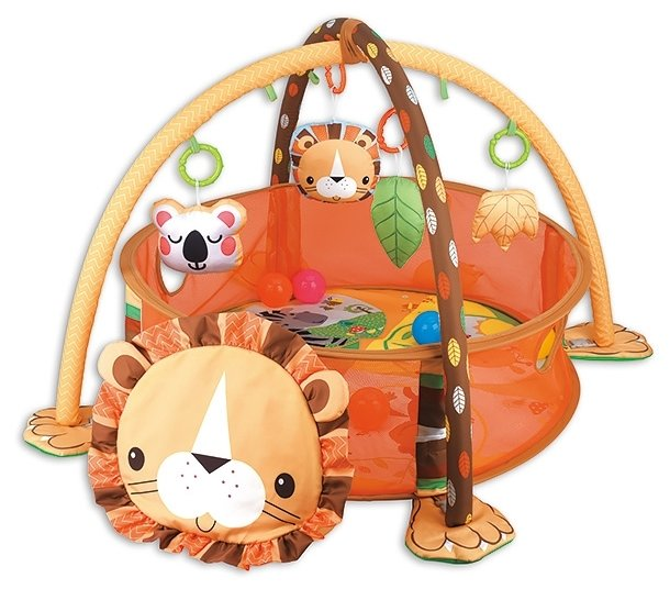 Развивающий коврик Funkids Lion Gym (CC9611)