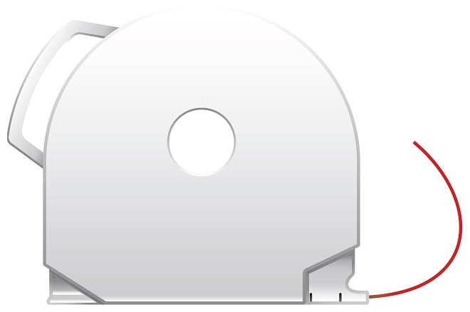 PLA пруток 3D Systems CubePro 1.75 мм красный