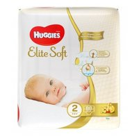 Huggies  Elite Soft 2 (3-6 кг) 88 шт.