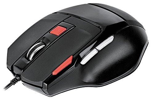 Мышь REAL-EL RM-500 Gaming Black USB