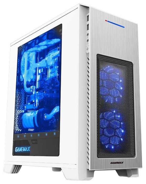 GameMax Компьютерный корпус GameMax H603 White