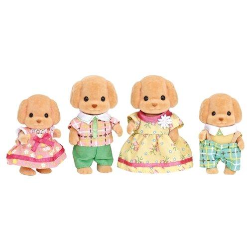Купить Игровой набор Sylvanian Families Семья той-пуделей 5259, Игровые наборы и фигурки