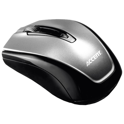 Мышь BTC M988U Wireless Optical Mouse Silver-Black USB