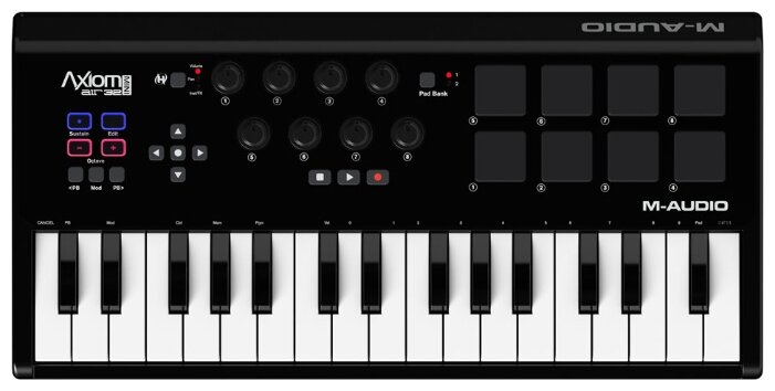 MIDI-клавиатура M-Audio Axiom AIR Mini 32 — купить по выгодной цене на Яндекс.Маркете