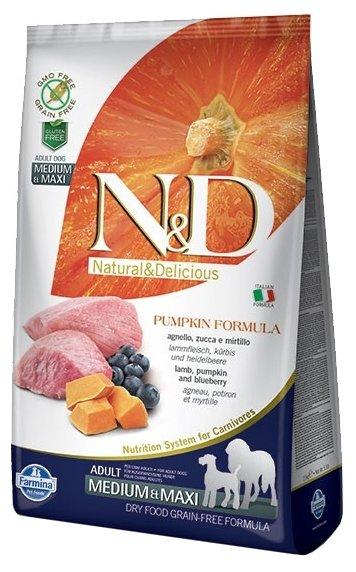 Корм для собак Farmina N&D Grain-Free Canine Pumpkin Lamb & Blueberry Adult Medium & Maxi