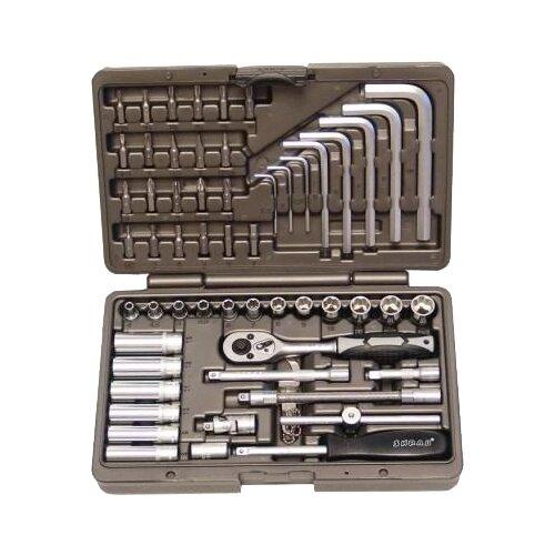 Набор автомобильных инструментов SKRAB (56 предм.) 60056 набор инструментов libman набор автомобильный 116пр skrab 60116