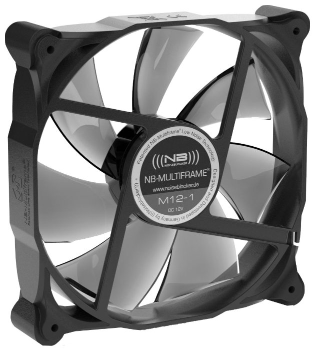 NOISEBLOCKER Система охлаждения для корпуса NOISEBLOCKER Multiframe S-Series M12-1
