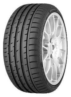 Автомобильная шина Continental ContiSportContact 3 285/35 R18 101Y