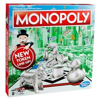 Hasbro Игры Настольная игра  Monopoly Классическая...