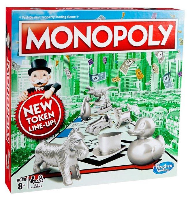 Настольная игра Hasbro Игры Monopoly Классическая (обновленная)