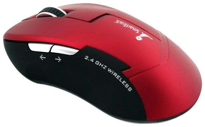 Мышь SmartTrack STM-504AG-R/K Red-Black USB