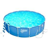 Бассейн каркасный Summer Escapes P20-1552-B (457х132 см, насос-фильтр, лестница, аксессуары)