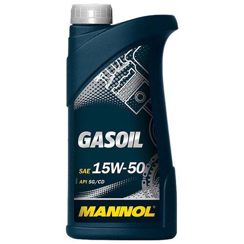 Моторное масло Mannol Gasoil 15W-50 1 л моторное масло mannol gasoil extra 10w 40 1 л