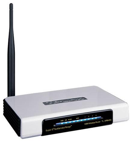 Wi-Fi роутер TP-LINK TL-WR642G